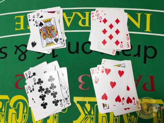 カード、ソーティング、方法